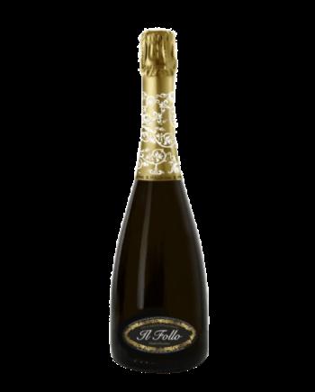 """bottle of Il Follo Prosecco di Valdobbiadene """"Villa Luigia"""" Brut Millesimato DOCG - Uncork Mexico"""