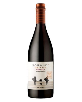 bottle of Morande Reserva Pinot Noir - Uncork Mexico