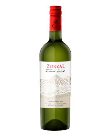 bottle of Zorzal Terroir Unico Chardonnay - Uncork Mexico