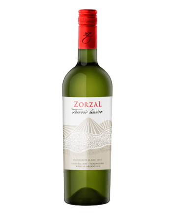 bottle of Zorzal Terroir Unico Sauvignon Blanc - Uncork Mexico
