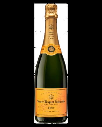 bottle of Veuve Clicquot Brut Champagne - Uncork Mexico